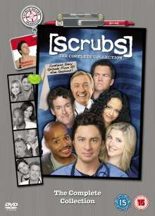 Scrubs Season 1-9 (Complete Collection) (UK Import), 31 DVDs