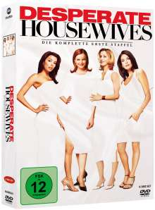 Desperate Housewives Season 1, 6 DVDs
