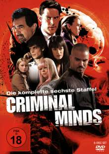 Criminal Minds Staffel 6, 6 DVDs