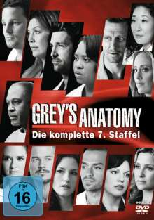 Grey's Anatomy Season 7, 6 DVDs