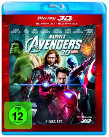 The Avengers (2011) (3D & 2D Blu-ray), 2 Blu-ray Discs