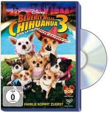 Beverly Hills Chihuahua 3, DVD