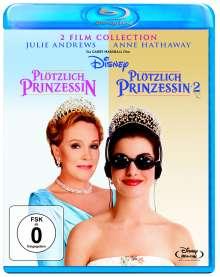 Plötzlich Prinzessin 1 & 2 (Blu-ray), 2 Blu-ray Discs