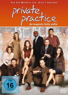Private Practice Season 5, 6 DVDs