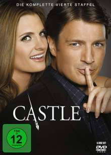 Castle Season 4, 6 DVDs