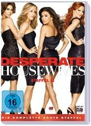 Desperate Housewives Season 8 (finale Staffel), 6 DVDs