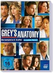 Grey's Anatomy Season 8, 6 DVDs