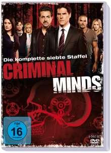 Criminal Minds Staffel 7, 5 DVDs