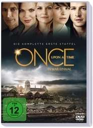 Once Upon a Time Season 1, 6 DVDs