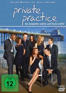 Private Practice Season 6, 3 DVDs