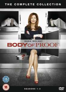 Body of Proof Season 1-3: The Complete Collection (UK Import mit deutscher Tonspur), 7 DVDs