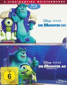 Die Monster AG / Die Monster Uni (Blu-ray), 2 Blu-ray Discs