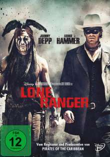 Lone Ranger, DVD