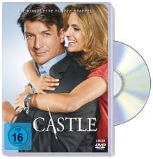 Castle Season 5, 6 DVDs