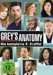 Grey's Anatomy Season 9, 6 DVDs