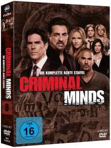 Criminal Minds Staffel 8, 5 DVDs
