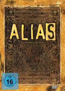 Alias Season 1-5 (Gesamtausgabe), 29 DVDs