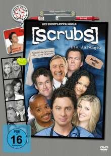 Scrubs Season 1-9 (Gesamtausgabe), 31 DVDs