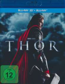 Thor (3D & 2D Blu-ray), 2 Blu-ray Discs