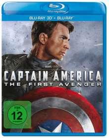 Captain America (3D & 2D Blu-ray), 2 Blu-ray Discs