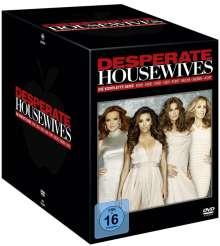 Desperate Housewives (Komplette Serie), 49 DVDs