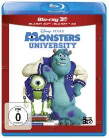 Die Monster Uni (3D & 2D Blu-ray), 2 Blu-ray Discs