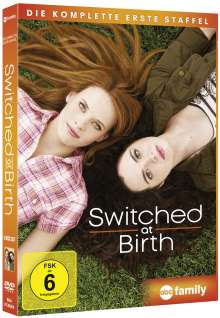 Switched at Birth Season 1, 3 DVDs