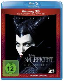 Maleficent - Die dunkle Fee (3D & 2D Blu-ray), 2 Blu-ray Discs