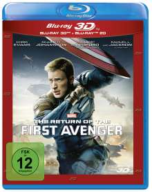 The Return of the First Avenger (3D & 2D Blu-ray), 2 Blu-ray Discs