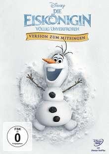 Die Eiskönigin - Völlig unverfroren (Version zum Mitsingen), DVD