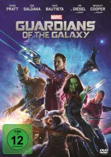 Guardians of the Galaxy, DVD