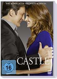 Castle Season 6, 6 DVDs