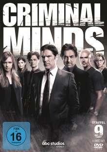 Criminal Minds Season 9, 5 DVDs