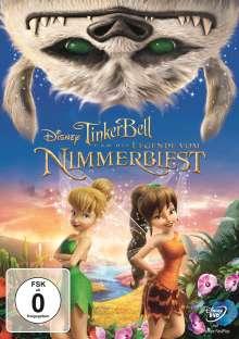 Tinkerbell und die Legende vom Nimmerbiest, DVD