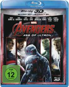 Avengers: Age of Ultron (3D & 2D Blu-ray), 2 Blu-ray Discs