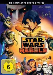 Star Wars Rebels Staffel 1, 3 DVDs