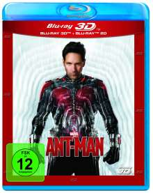 Ant-Man (3D & 2D Blu-ray), 2 Blu-ray Discs
