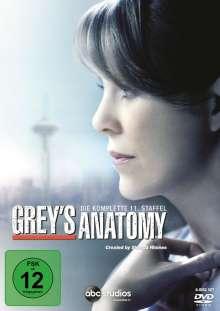 Grey's Anatomy Season 11, 6 DVDs