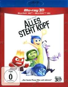 Alles steht Kopf (3D & 2D Blu-ray), 2 Blu-ray Discs