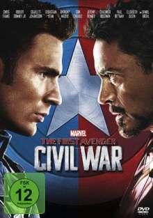 The First Avenger: Civil War, DVD