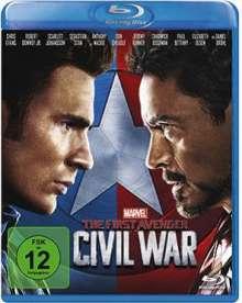 The First Avenger: Civil War (Blu-ray), Blu-ray Disc