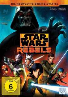 Star Wars Rebels Staffel 2, 4 DVDs