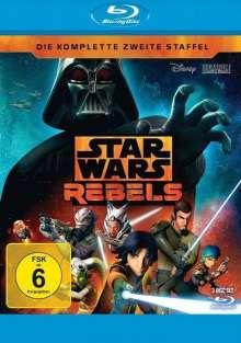 Star Wars Rebels Staffel 2 (Blu-ray), 3 Blu-ray Discs