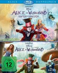 Alice im Wunderland 1 & 2 (Blu-ray), 2 Blu-ray Discs