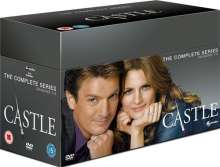 Castle Season 1-8 (The Complete Series) (UK Import), 45 DVDs