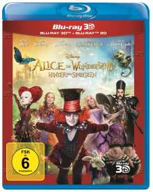 Alice im Wunderland - Hinter den Spiegeln (3D & 2D Blu-ray), 2 Blu-ray Discs