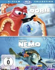 Findet Dorie / Findet Nemo (Blu-ray), 2 Blu-ray Discs
