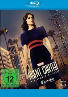 Agent Carter (Komplette Serie) (Blu-ray), 4 Blu-ray Discs