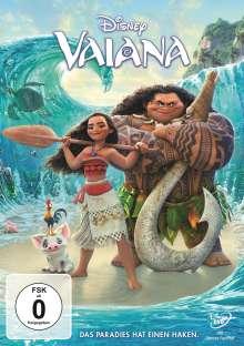 Vaiana, DVD