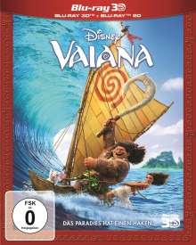 Vaiana (3D & 2D Blu-ray), 2 Blu-ray Discs